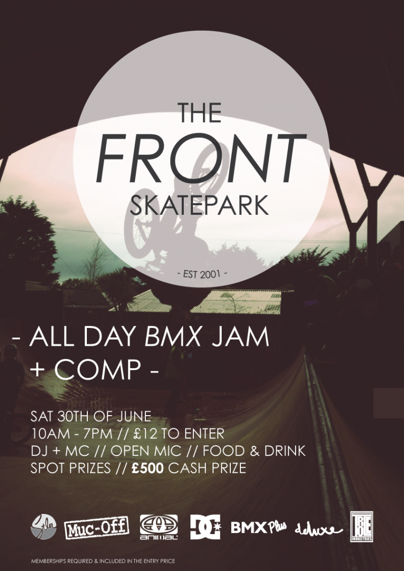 The Front Skatepark - BMX JAM & COMP
